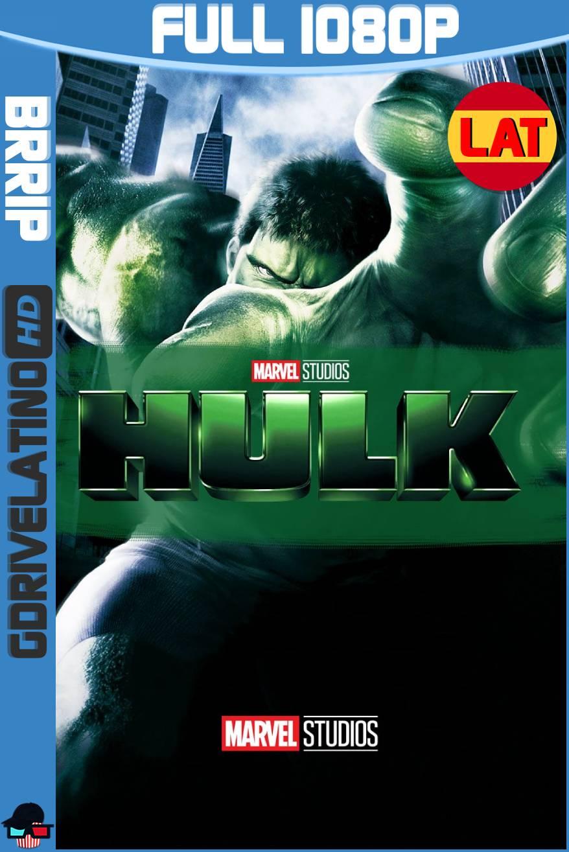 Hulk (2003) BRRip 1080p Latino-Ingles MKV
