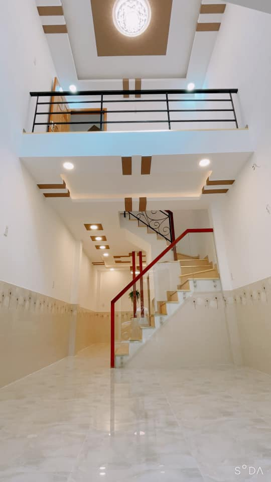 Bán nhà hẻm 184 Âu Dương Lân Quận 8. Dt 3,6x11,2m nhà đẹp trệt lững 2 lầu sân thượng