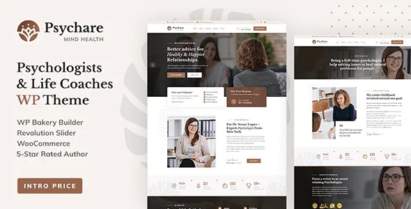 Best WordPress Theme for Psychologists and Life Coaches