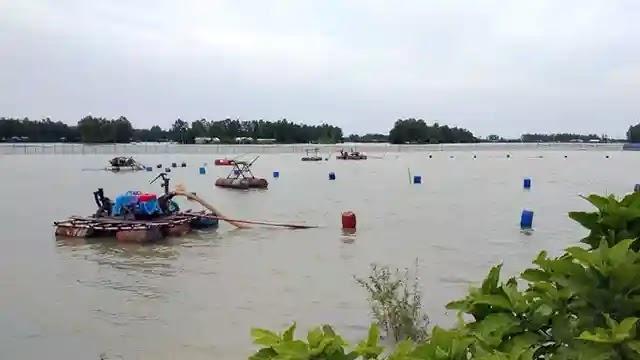 বালু উত্তোলনে ঝুঁকিতে নাটুয়ারপাড়া ইউনিয়ন রক্ষা বাধ