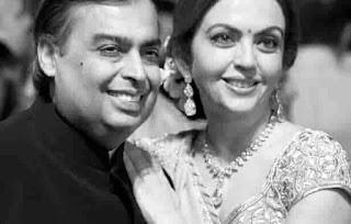 Nita Ambani With Mukesh Ambani