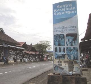 Sentra kerajinan dandang-panci Sayangan, Kalibaru, Banyuwangi