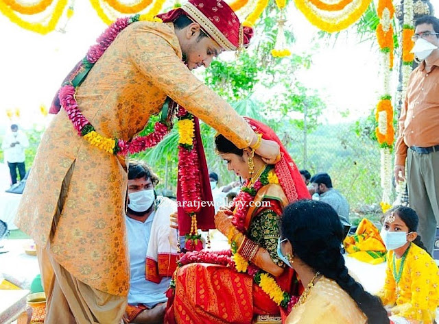 Actor Nikhil and Dr Pallavi Varam Wedding