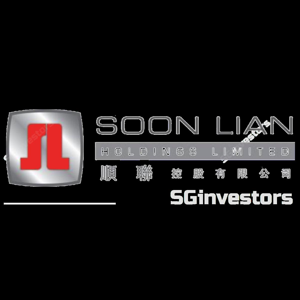 SOON LIAN HOLDINGS LIMITED (SGX:5MD) @ SGinvestors.io