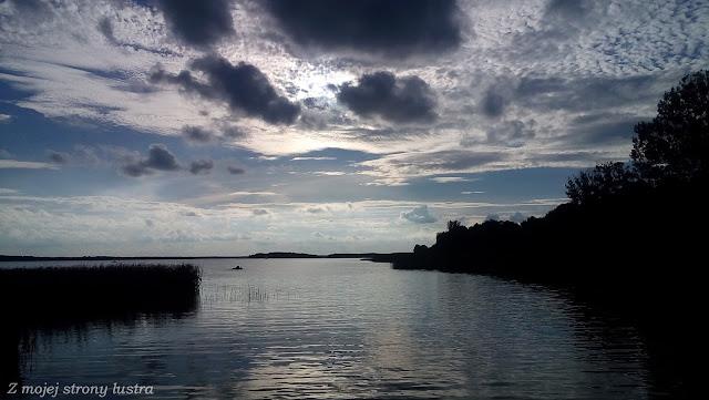 jezioro woda mazury