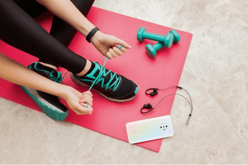 Vivo app store is loaded with workout apps for you to choose from