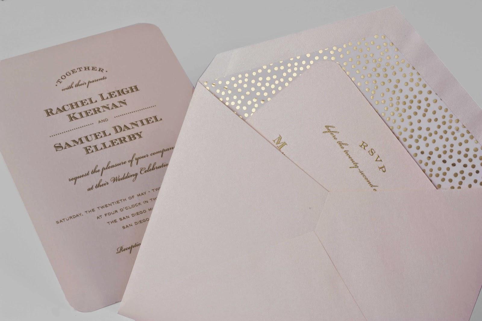 New Wedding Invitation Designs: William Arthur Blog: Delightful New Wedding Invitation
