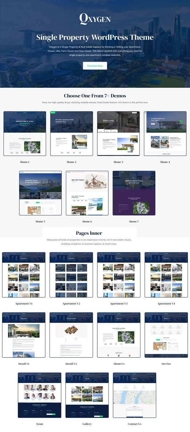 Best Single Property WordPress Template