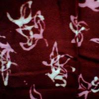 kain batik santung