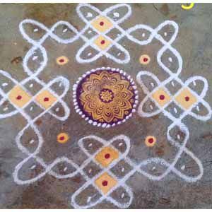 simple kolam designs with dots for beginners free hand