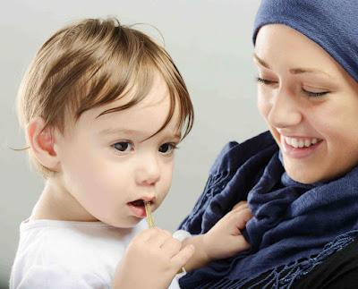 Cinta seorang Ibu kepada Anaknya
