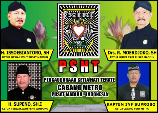 Kapten Suprobo (Ketua PSHT Cabang Kota Metro)