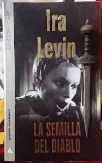 Portada del libro La semilla del diablo, de Ira Levin