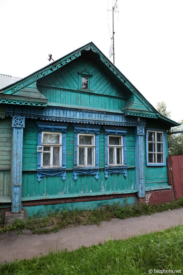 деревянные дома иваново фото