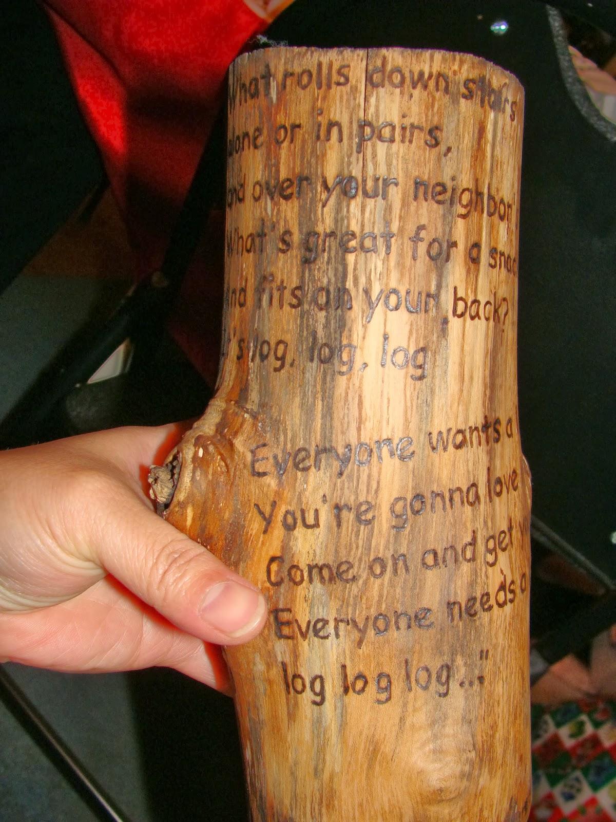Its Log Its Log : Stuff,, Life:, Log...