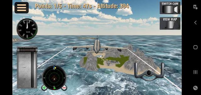 لعبة محاكاة الطيران للاندرويد والايفون : Flight Simulator apk 2020 [ تحميل مباشر-جرافيك عالِ ]