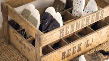 Cómo organizar los zapatos de forma fácil y creativa