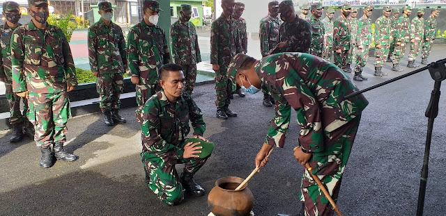Inilah Pesan Dandim Saat Menyambut Personel Kodim 1415 Selayar Usai Tugas Di Papua