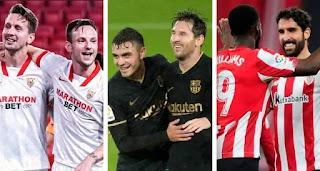 Sevilla, Bilbao and 5 more Barca's possible opponents in Copa del Rey quarter-final