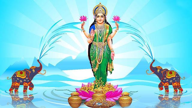 श्री सूक्तं लक्ष्मी जी
