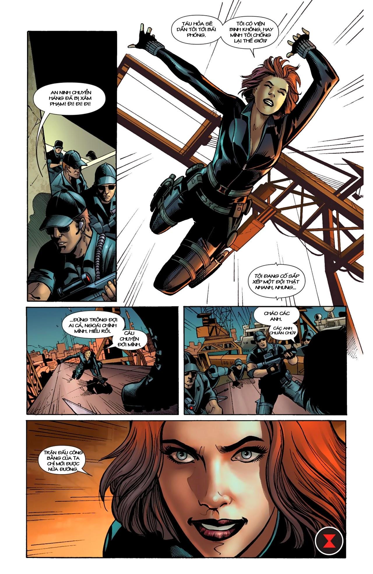 Marvel Cinematic Universe chap 4 - Trang 12