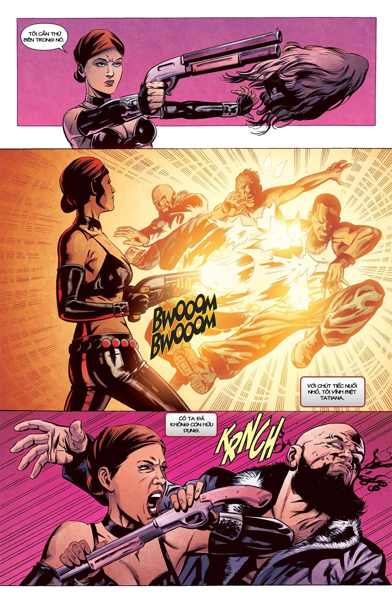 Marvel Cinematic Universe chap 2 - Trang 8