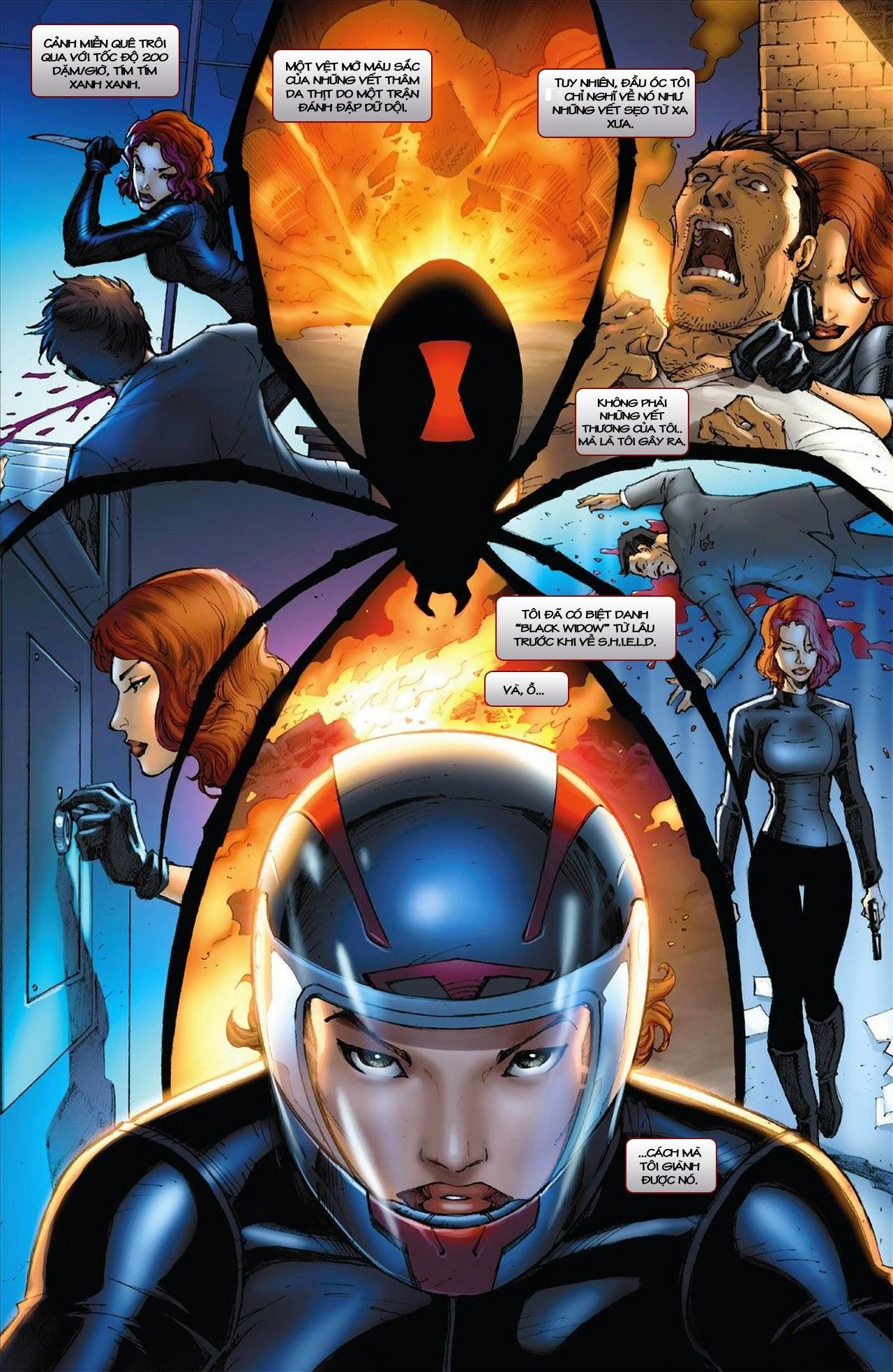 Marvel Cinematic Universe chap 3 - Trang 5