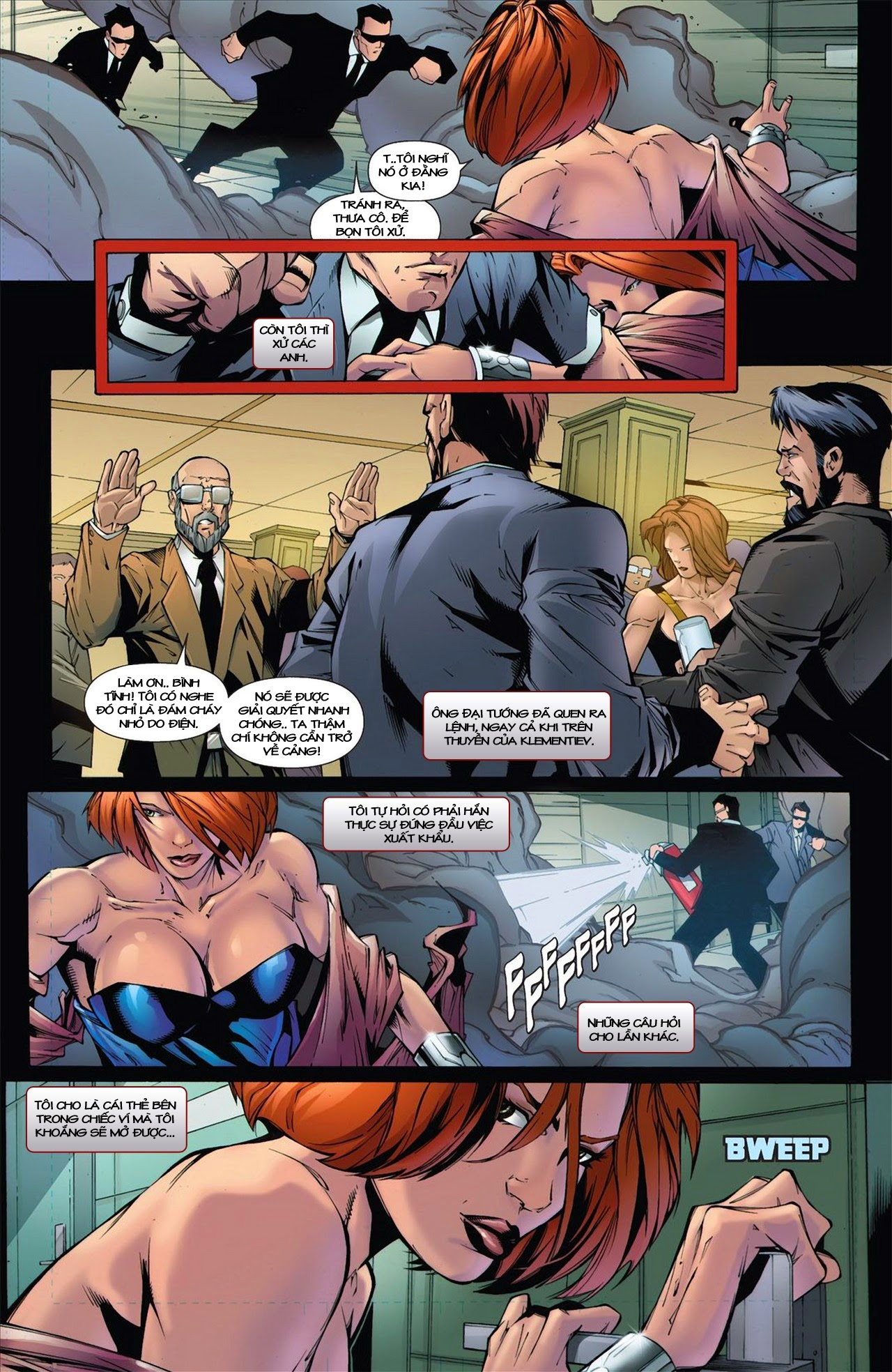 Marvel Cinematic Universe chap 3 - Trang 16