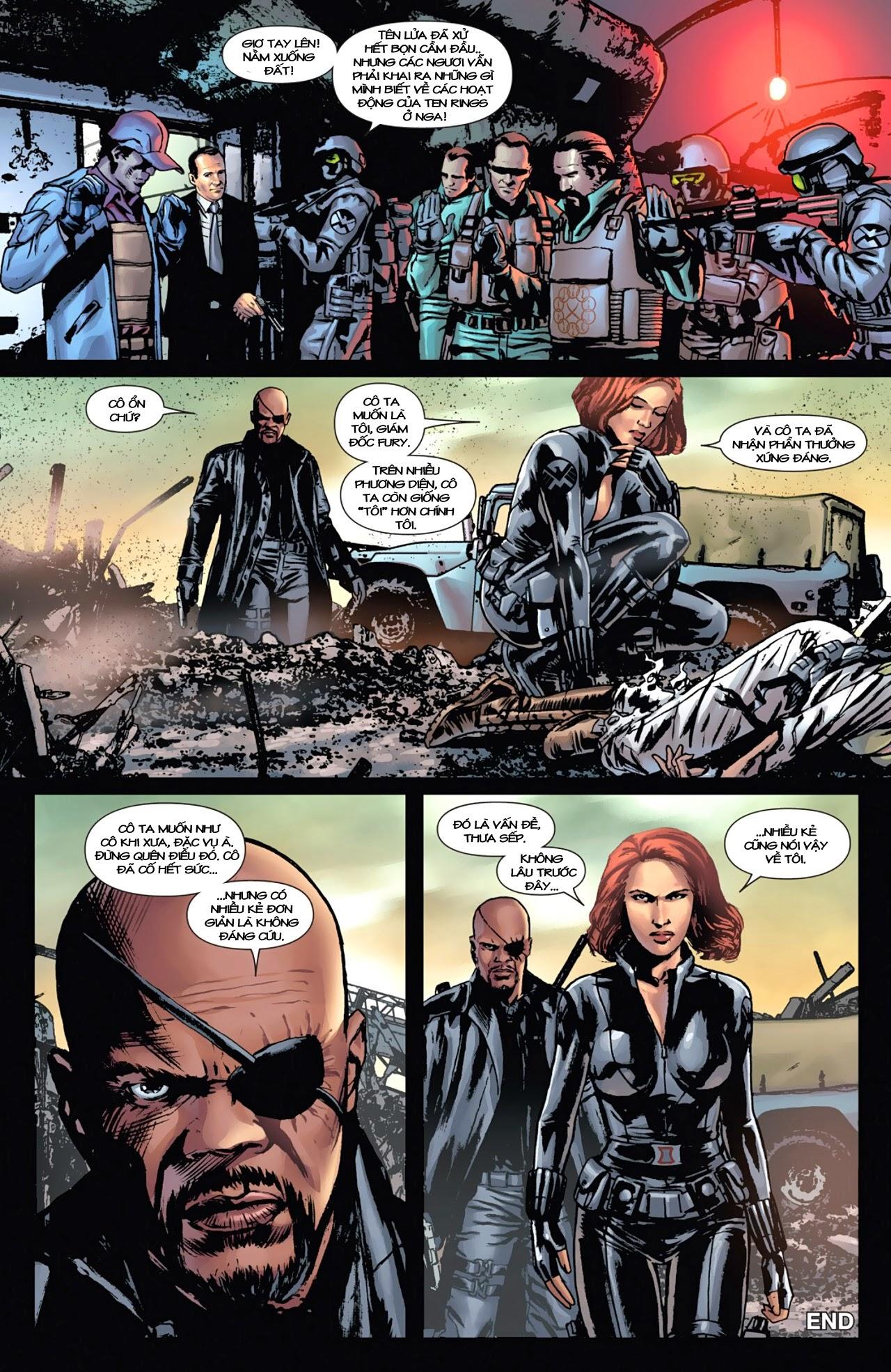 Marvel Cinematic Universe chap 4 - Trang 22