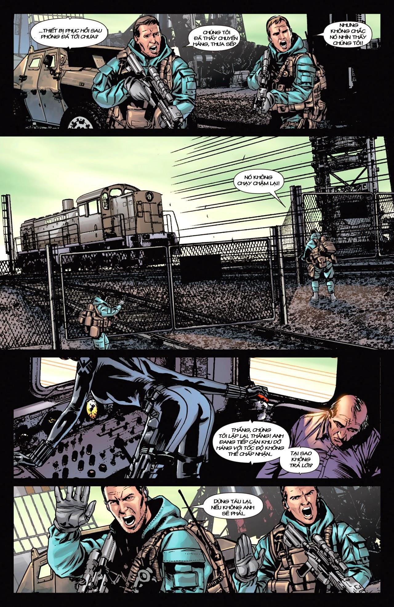 Marvel Cinematic Universe chap 4 - Trang 14