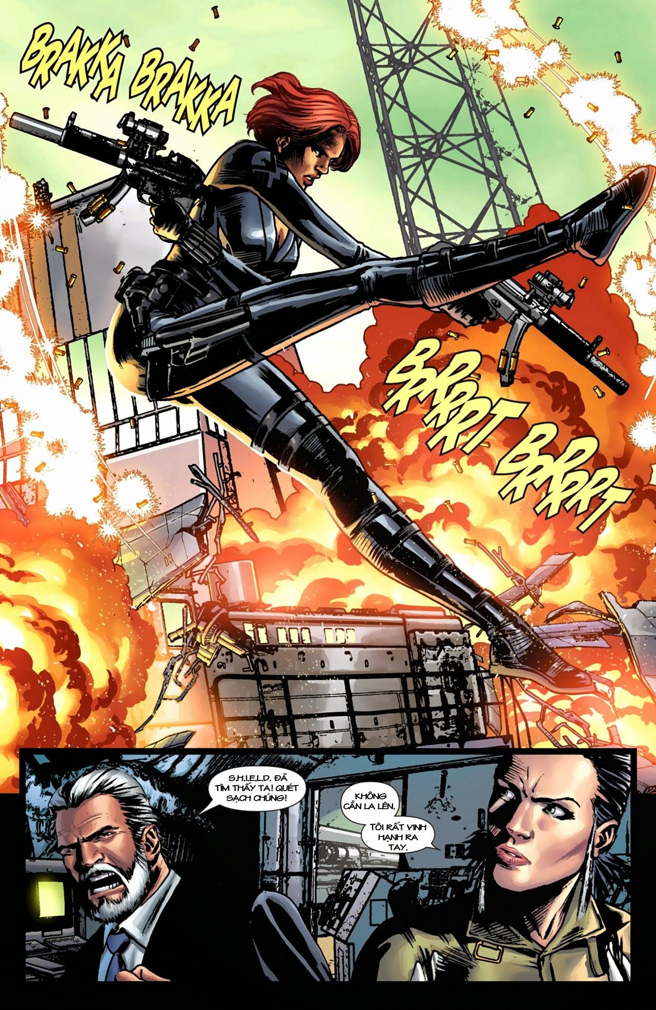 Marvel Cinematic Universe chap 4 - Trang 16