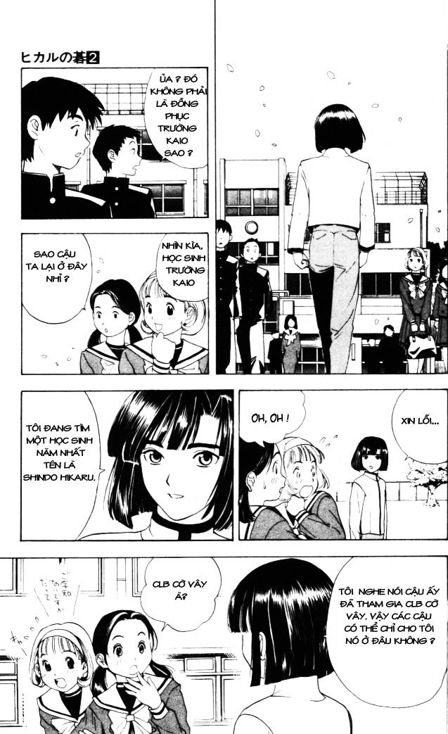Hikaru No Go hikaru no go chap 13 trang 10