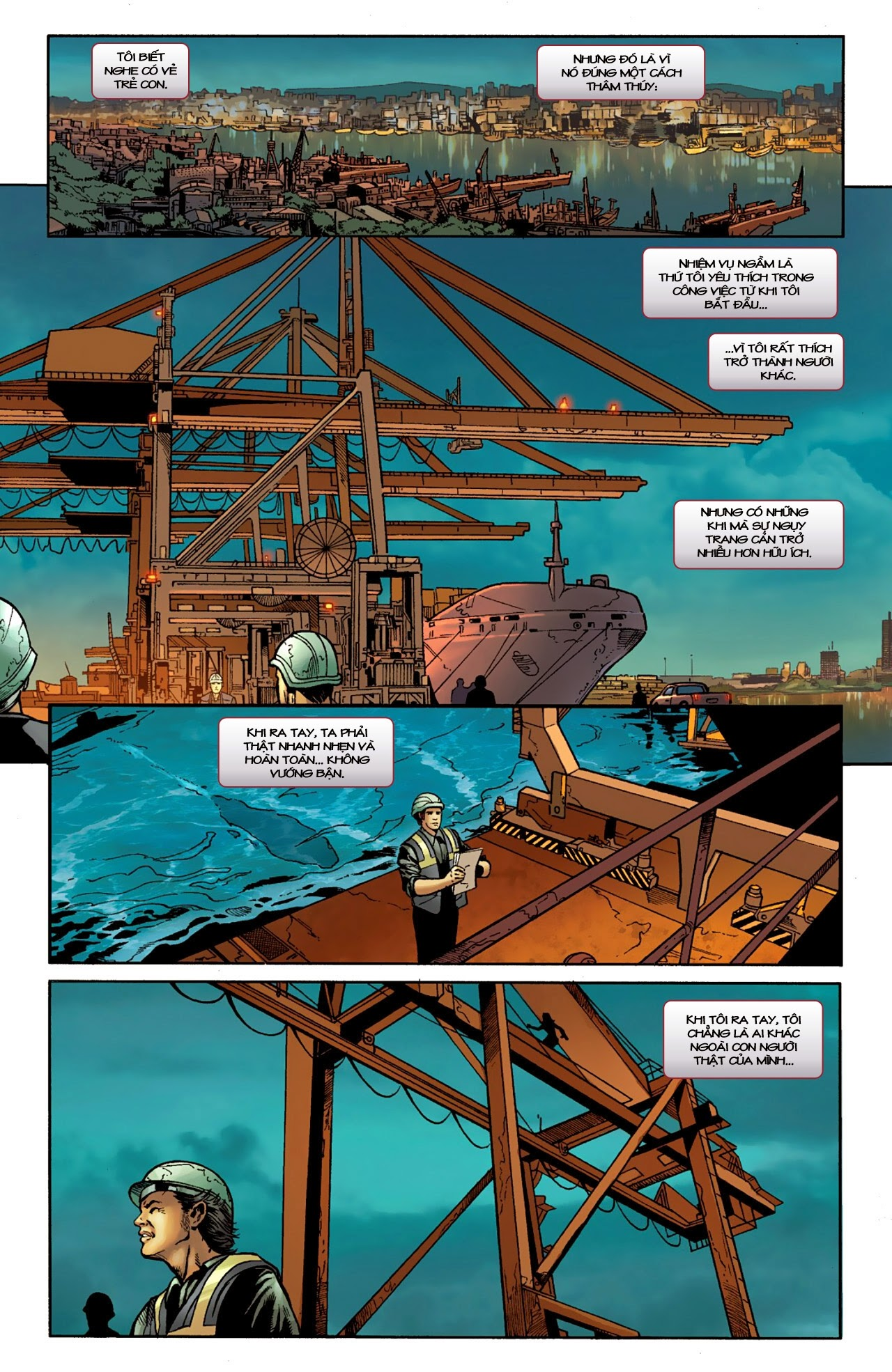 Marvel Cinematic Universe chap 4 - Trang 3