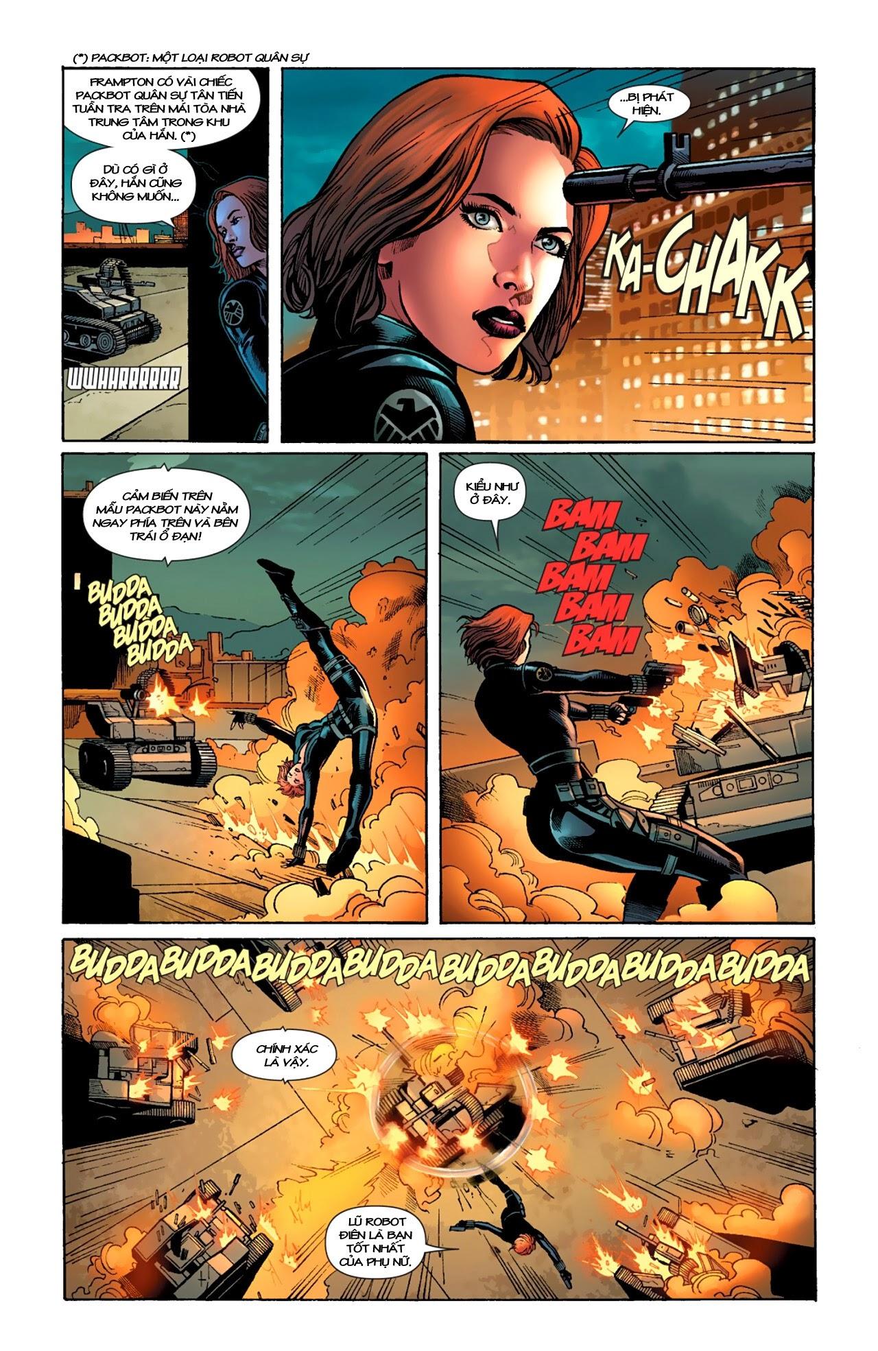 Marvel Cinematic Universe chap 4 - Trang 9