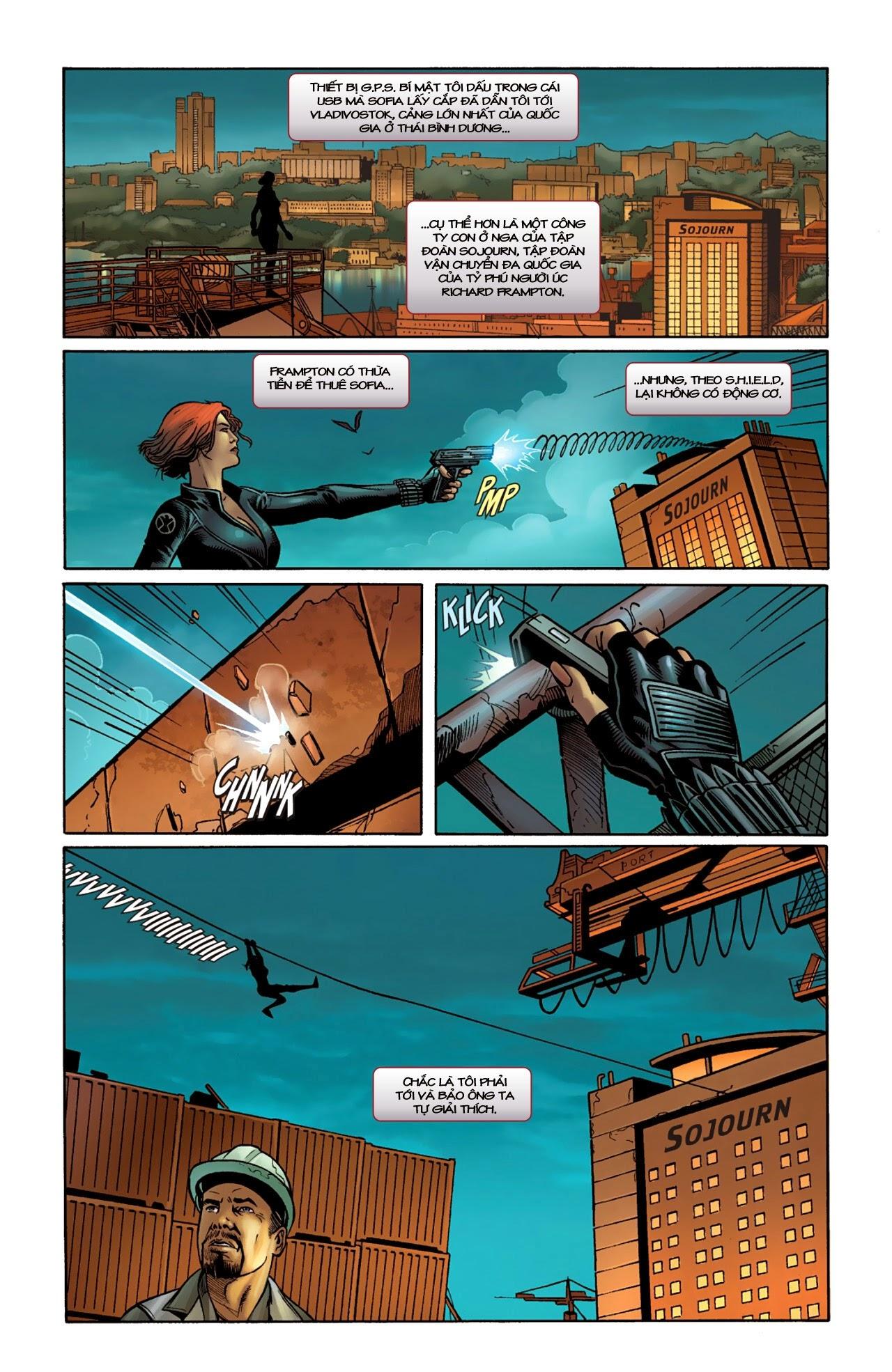 Marvel Cinematic Universe chap 4 - Trang 5
