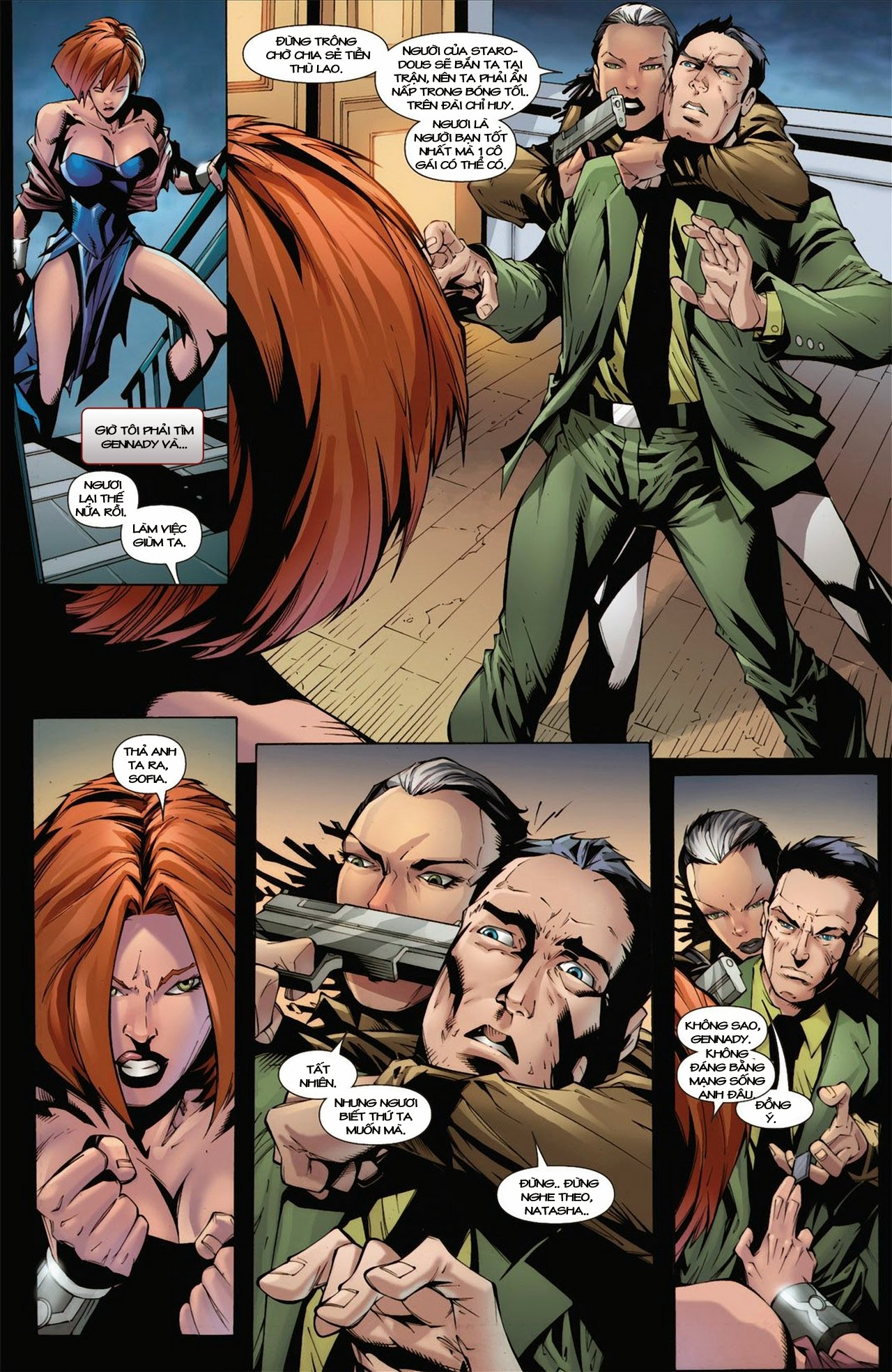 Marvel Cinematic Universe chap 3 - Trang 20