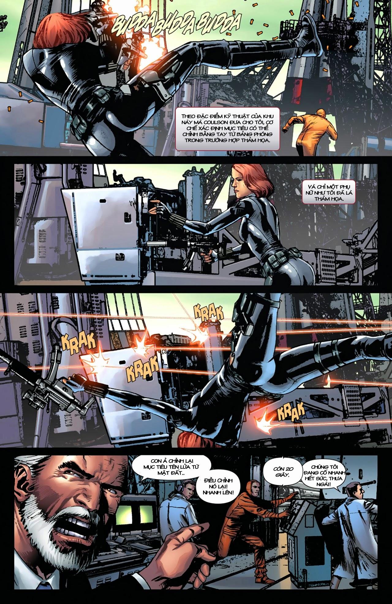 Marvel Cinematic Universe chap 4 - Trang 17