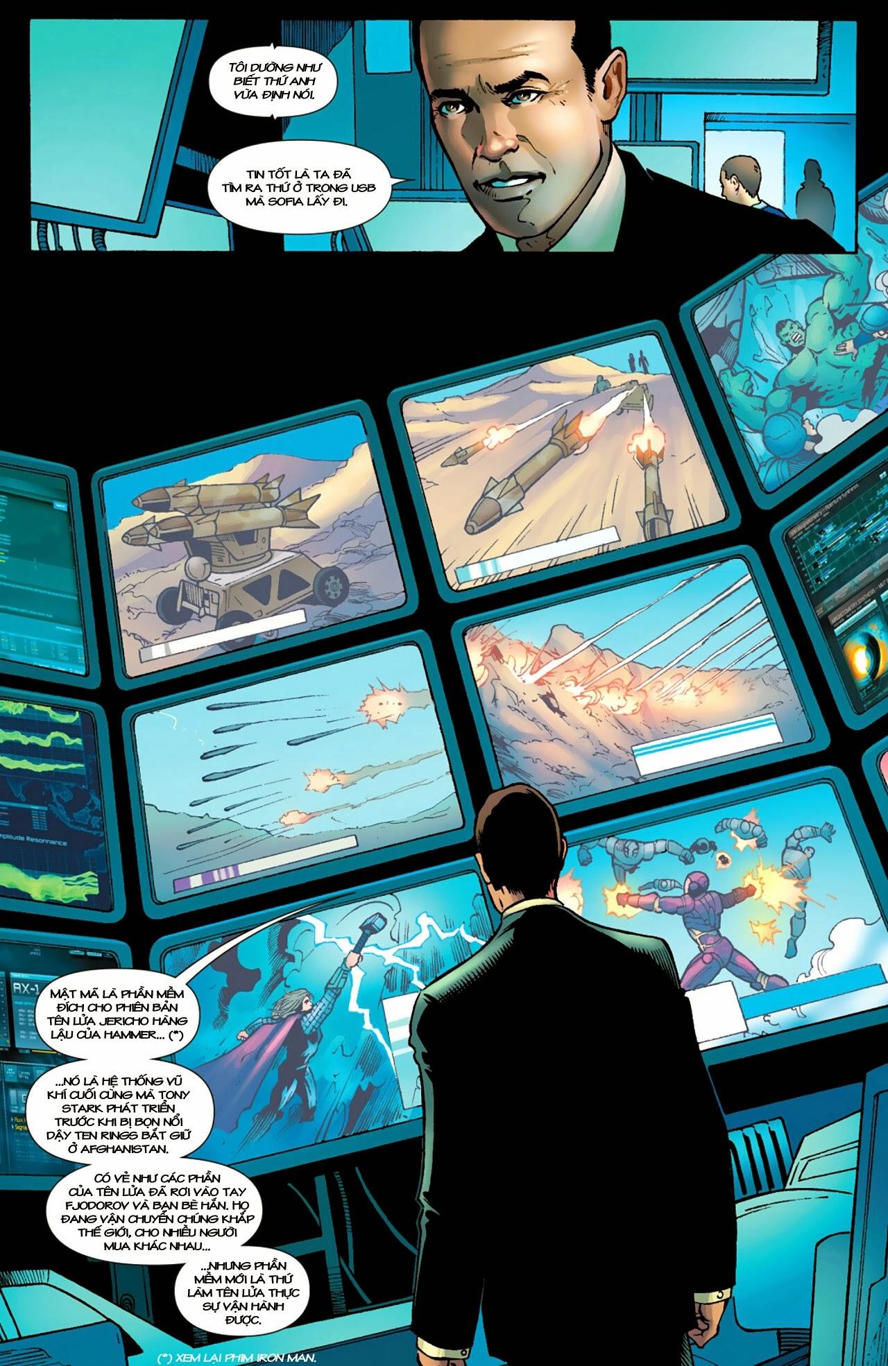 Marvel Cinematic Universe chap 4 - Trang 7