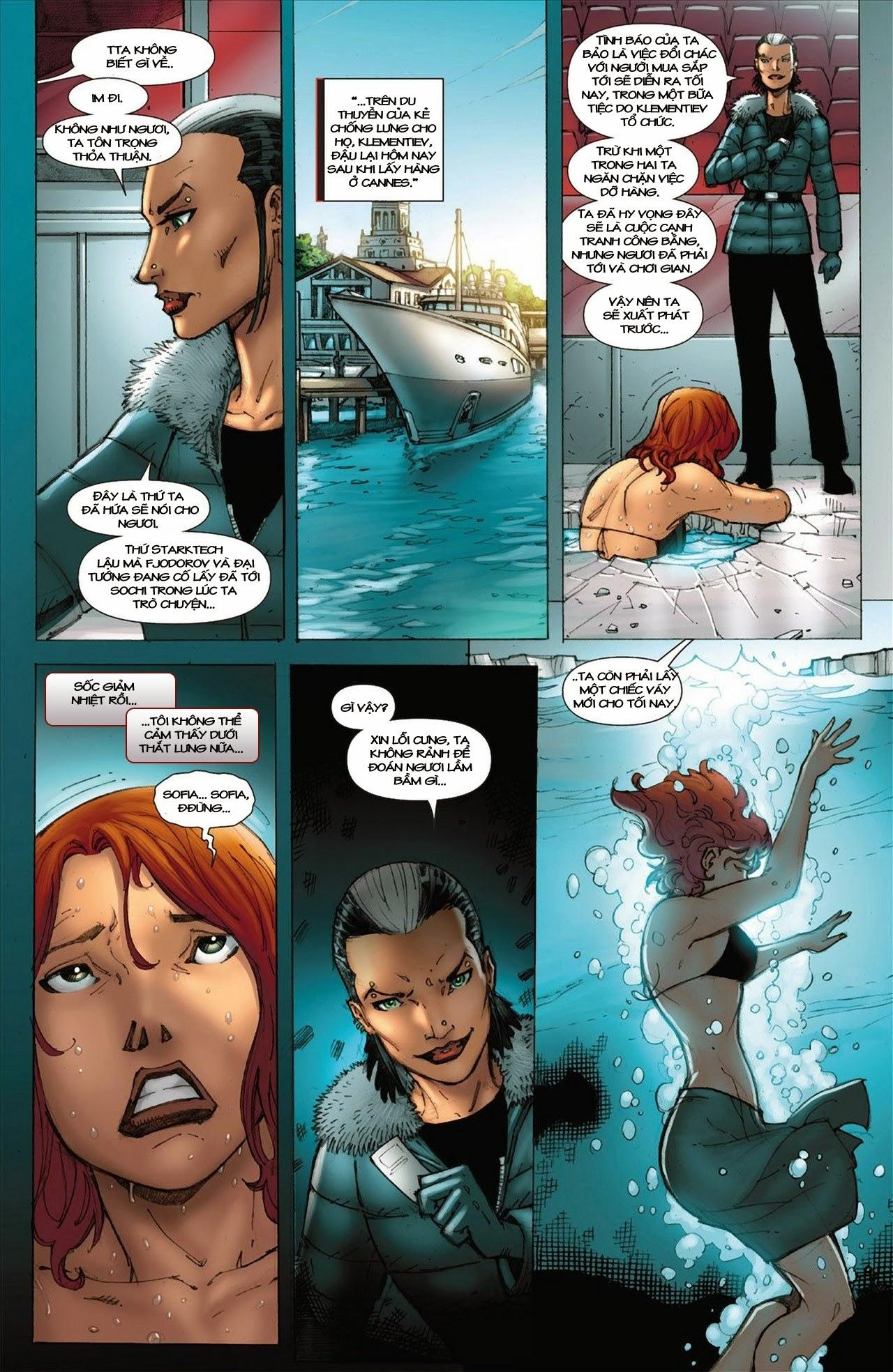 Marvel Cinematic Universe chap 3 - Trang 11