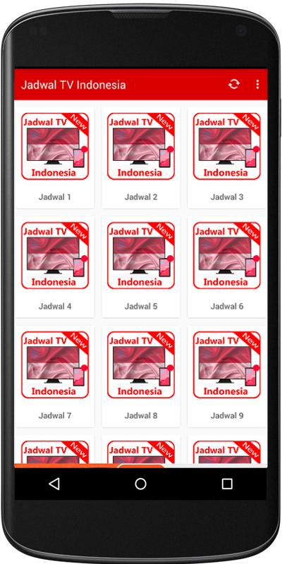 Aplikasi TV Indonesia Online di Android