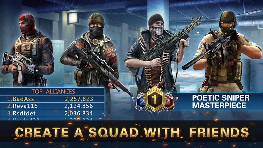 Playstore Screenshot of Sniper 3D Strike Assassin