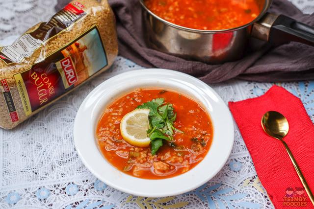 Chicken Tomato Bulgur Soup Recipe