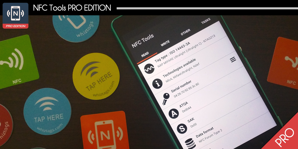 NFC Tools Pro Edition apk