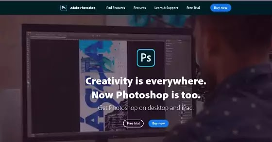 photoshop editor photo online for blogger