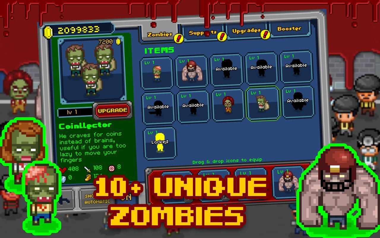 Zombies del juego