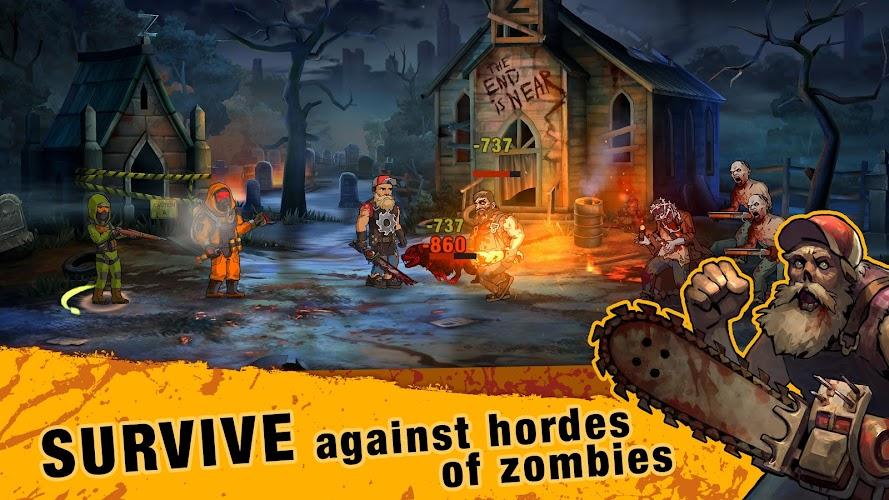 Zero City: Zombie Shelter Survival Screenshot 02