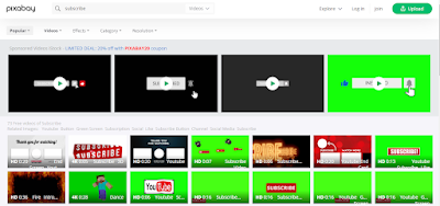 search for subscribing Animated YouTube Subscribe Button Templates in Pixabay