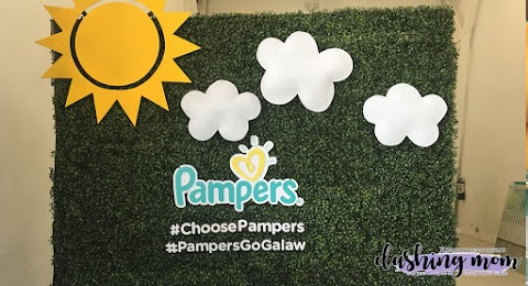 Mornings now can be joyful with the help of Pampers Go Galaw