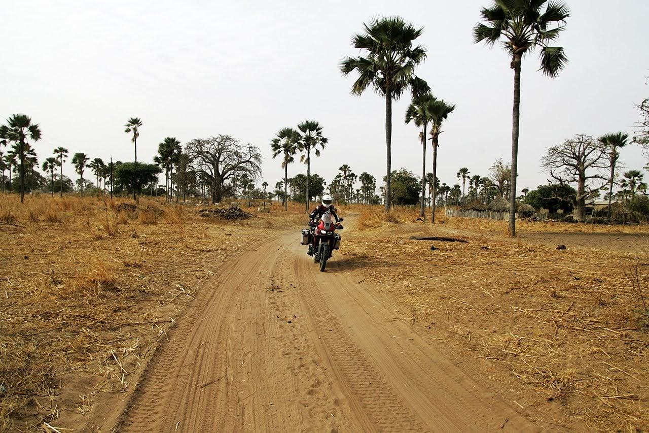 podróże motocyklowe do afryki