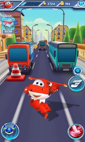 Super Wings : Jett Run Screenshot 01